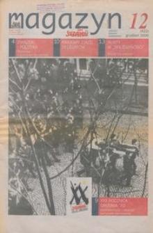"""Magazyn """"Solidarność"""", 2000, nr 12"""