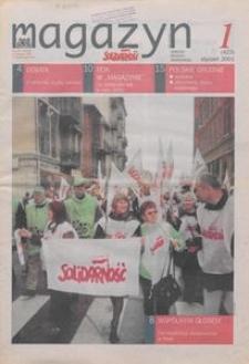 """Magazyn """"Solidarność"""", 2001, nr 1"""