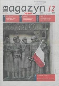 """Magazyn """"Solidarność"""", 2001, nr 12"""