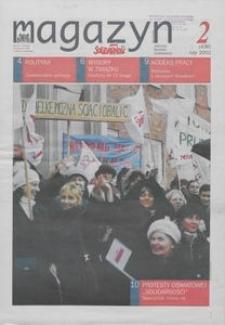"""Magazyn """"Solidarność"""", 2002, nr 2"""