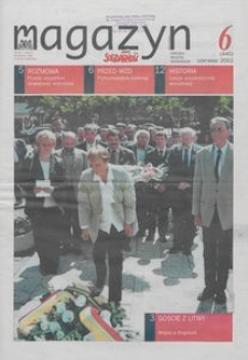 """Magazyn """"Solidarność"""", 2002, nr 6"""
