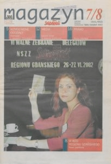 """Magazyn """"Solidarność"""", 2002, nr 7/8"""