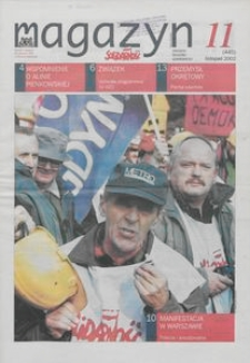 """Magazyn """"Solidarność"""", 2002, nr 11"""