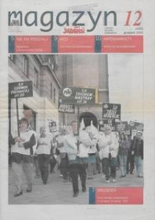 """Magazyn """"Solidarność"""", 2002, nr 12"""