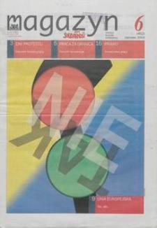 """Magazyn """"Solidarność"""", 2003, nr 6"""