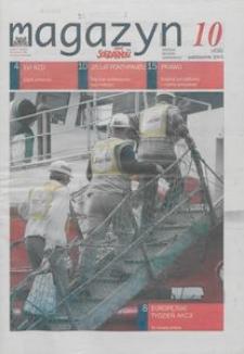 """Magazyn """"Solidarność"""", 2003, nr 10"""
