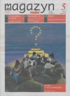 """Magazyn """"Solidarność"""", 2004, nr 5"""