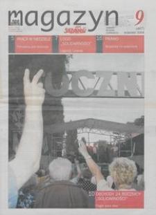 """Magazyn """"Solidarność"""", 2004, nr 9"""