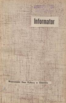 Infomator / Wojewódzki Dom Kultury w Gdańsku, 1964, nr