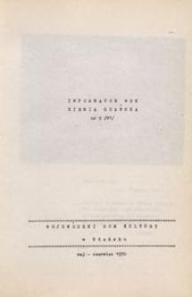 Informator WDK : Ziemia Gdańska, 1970, nr 9 (81)