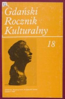 Gdański Rocznik Kulturalny, 1999, nr 18