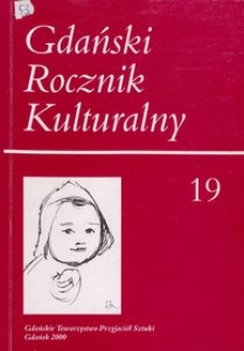 Gdański Rocznik Kulturalny, 2000, nr 19