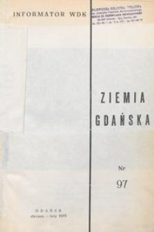 Informator WDK : Ziemia Gdańska, nr 97
