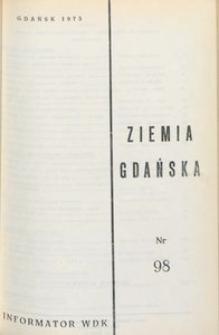 Informator WDK : Ziemia Gdańska, nr 98