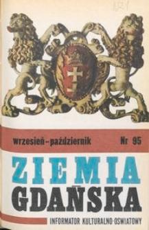 Informator WDK : Ziemia Gdańska, 1972, nr 95