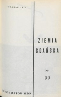 Informator WDK : Ziemia Gdańska, nr 99