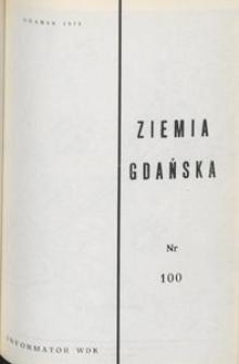 Informator WDK : Ziemia Gdańska, nr 100