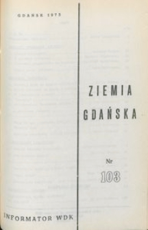 Informator WDK : Ziemia Gdańska, nr 103