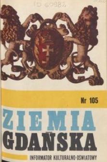 Informator Wojewódzkiego Ośrodka Kultury : Ziemia Gdańska, 1974, nr 105