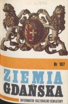 Informator Wojewódzkiego Ośrodka Kultury : Ziemia Gdańska, 1974, nr 107