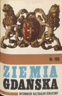 Informator Wojewódzkiego Ośrodka Kultury : Ziemia Gdańska, 1974, nr 108