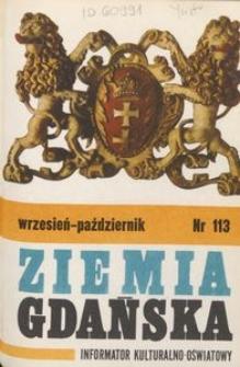 Informator Wojewódzkiego Ośrodka Kultury : Ziemia Gdańska, 1975, nr 113