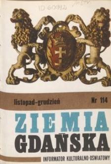 Informator Wojewódzkiego Ośrodka Kultury : Ziemia Gdańska, 1975, nr 114