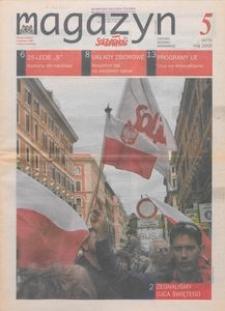 """Magazyn """"Solidarność"""", 2005, nr 5"""