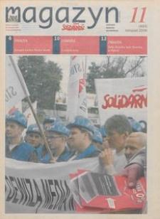 """Magazyn """"Solidarność"""", 2006, nr 11"""