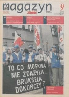 """Magazyn """"Solidarność"""", 2007, nr 9"""