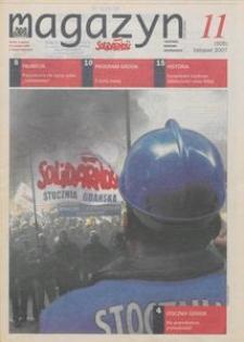 """Magazyn """"Solidarność"""", 2007, nr 11"""