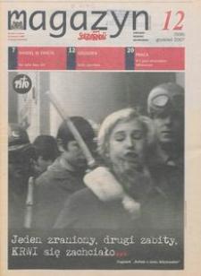 """Magazyn """"Solidarność"""", 2007, nr 12"""