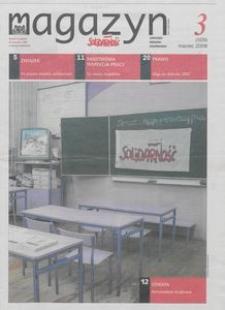 """Magazyn """"Solidarność"""", 2008, nr 3"""