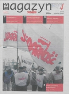 """Magazyn """"Solidarność"""", 2008, nr 4"""