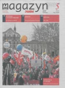 """Magazyn """"Solidarność"""", 2008, nr 5"""