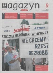 """Magazyn """"Solidarność"""", 2009, nr 9"""