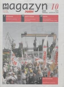 """Magazyn """"Solidarność"""", 2009, nr 10"""