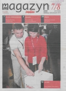 """Magazyn """"Solidarność"""", 2010, nr 7/8"""