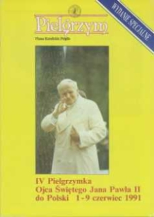 Pielgrzym : Pismo Katolickie, 1991, Wydanie specjalne