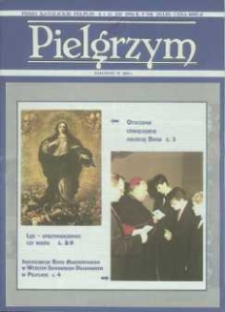 Pielgrzym : Pismo Katolickie, 1994, R. V, nr 25 (130)