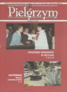 Pielgrzym : Pismo Katolickie, 1995, R. VI, nr 13 (144)