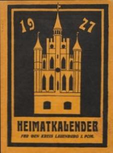 Heimatkalender für den Kreis Lauenburg i. Pom. 1927