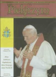 Pielgrzym : Pismo Katolickie, 1996, R. VII, nr 21 (179)