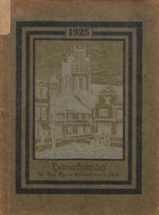 Heimatkalender für den Kreis Lauenburg i. Pom. 1925