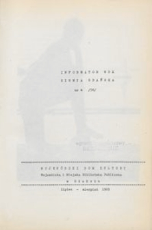 Informator WDK : Ziemia Gdańska, 1969, nr 4 (76)