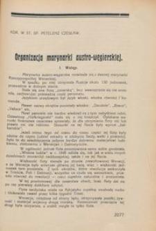 Przegląd Morski : miesięcznik Marynarki Wojennej, 1931, nr 35-36