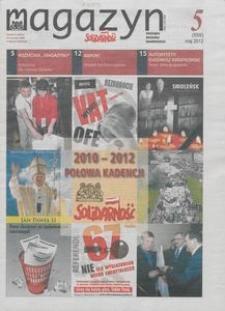 """Magazyn """"Solidarność"""", 2012, nr 5"""