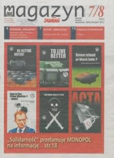 """Magazyn """"Solidarność"""", 2012, nr 7/8"""