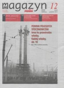 """Magazyn """"Solidarność"""", 2012, nr 12"""