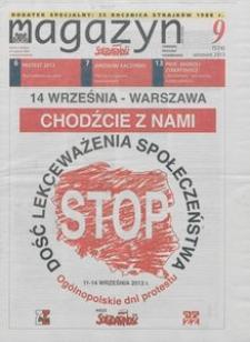 """Magazyn """"Solidarność"""", 2013, nr 9"""